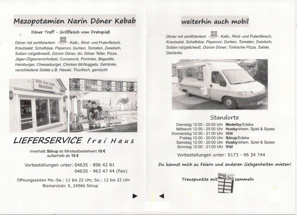Döner-Imbiss Mesopotamien, Verkaufswagen & Imbiss